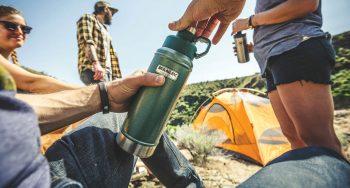בקבוק סטנלי תרמוס חזק שומר על טמפרטורה