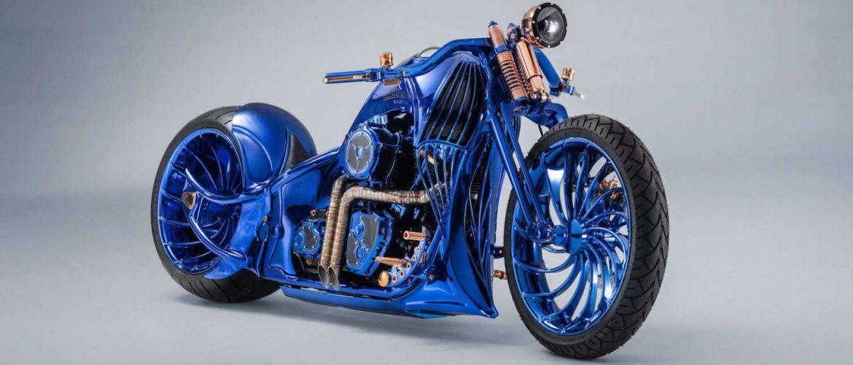 בלתי רגיל בוצ'רר אופנוע הארלי היקר בעולם | מןסטרים - הגברים הטובים % KF-09