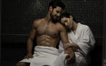 עיסוי בספא הורייזן במלון שרתון תל אביב