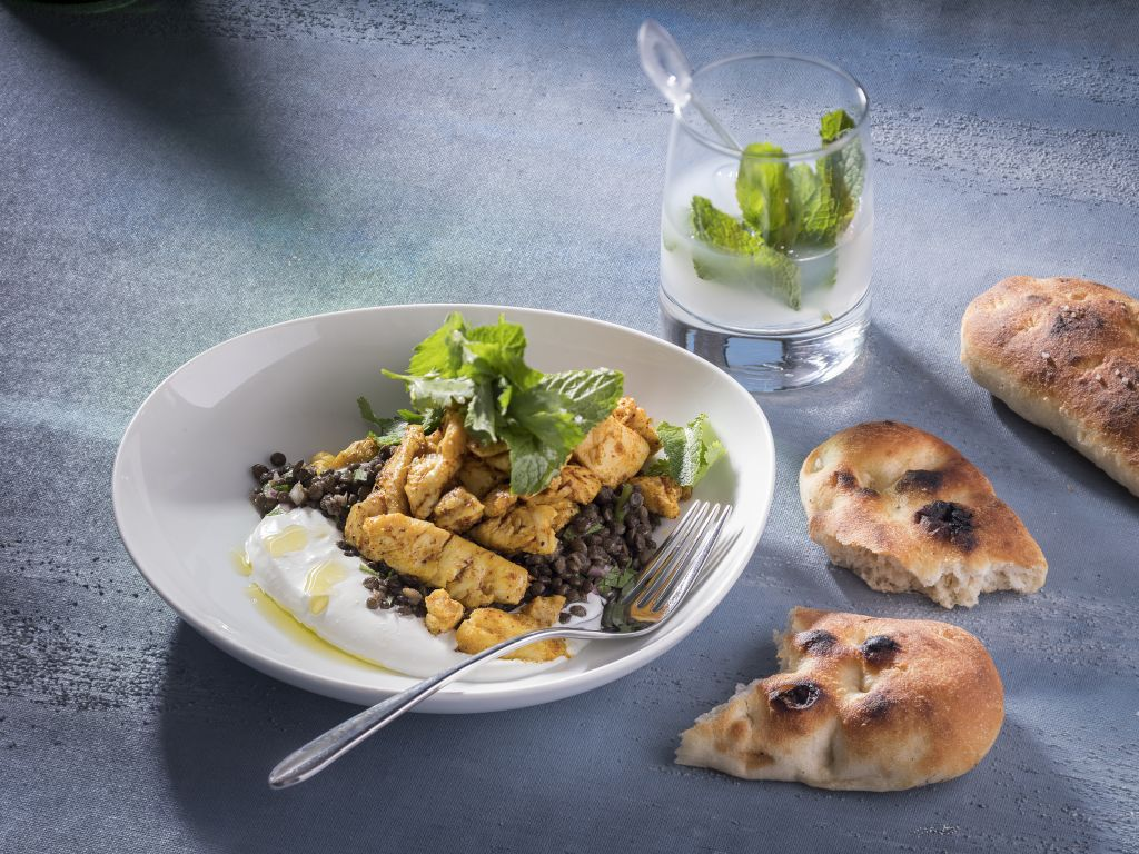 """ממסעדת """"הפי פיש"""" של מלון ממילא ירושלים"""