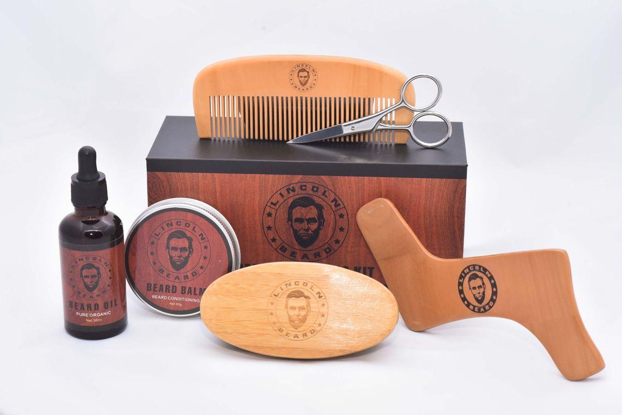 ערכת לעיצוב זקןLincoln beard
