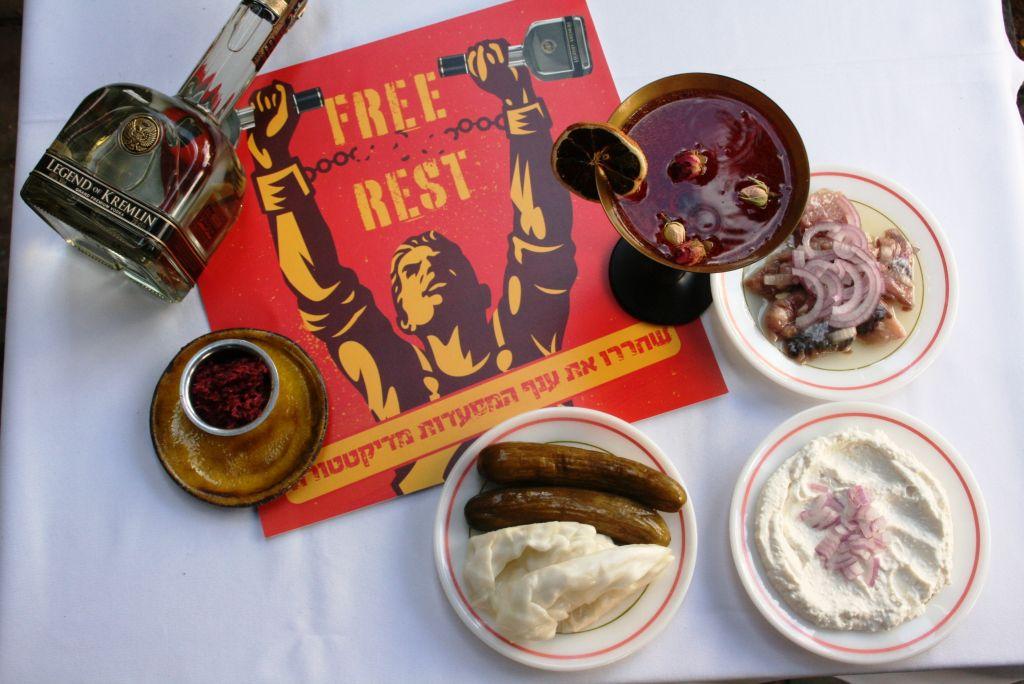 מסעדת קיטון פופ אפ מחאת מסעדות