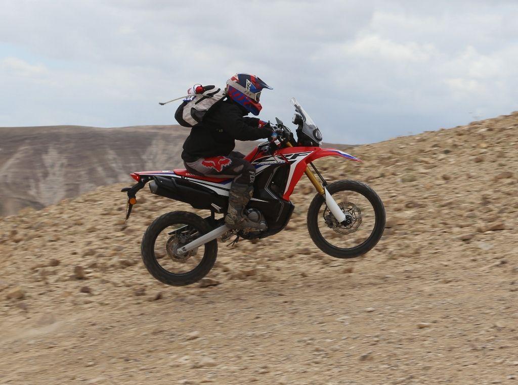 מסלול טיול עם אופנוע הונדה CRF250 RALLY
