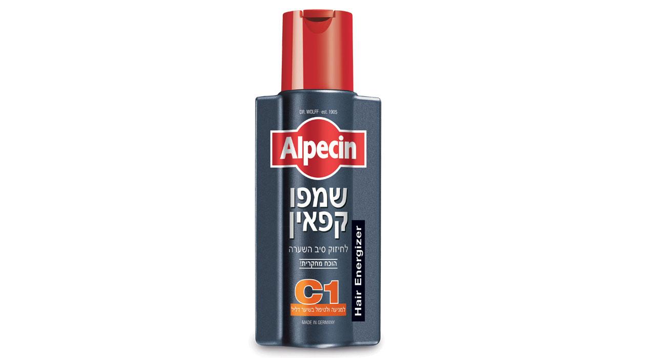 אלפסין שמפו יעיל לגברים