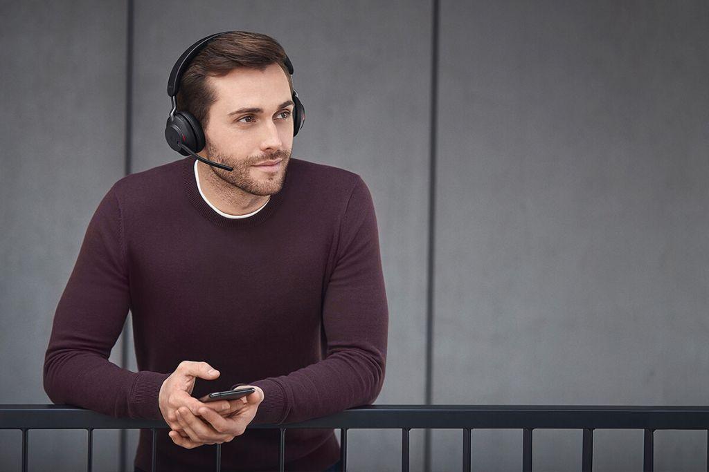 אוזניות אלחוטיות מקצועיותJabra Evolve2 65 הדור החדש
