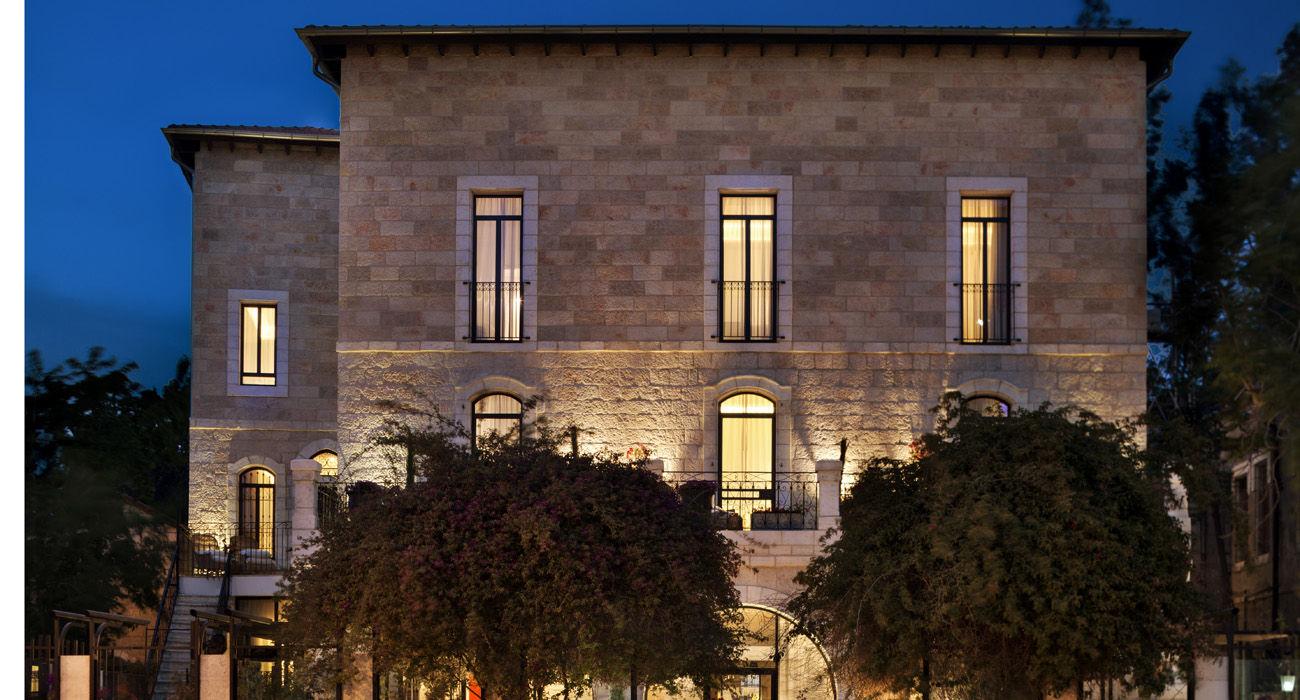 מלון וילה בראון בירושלים