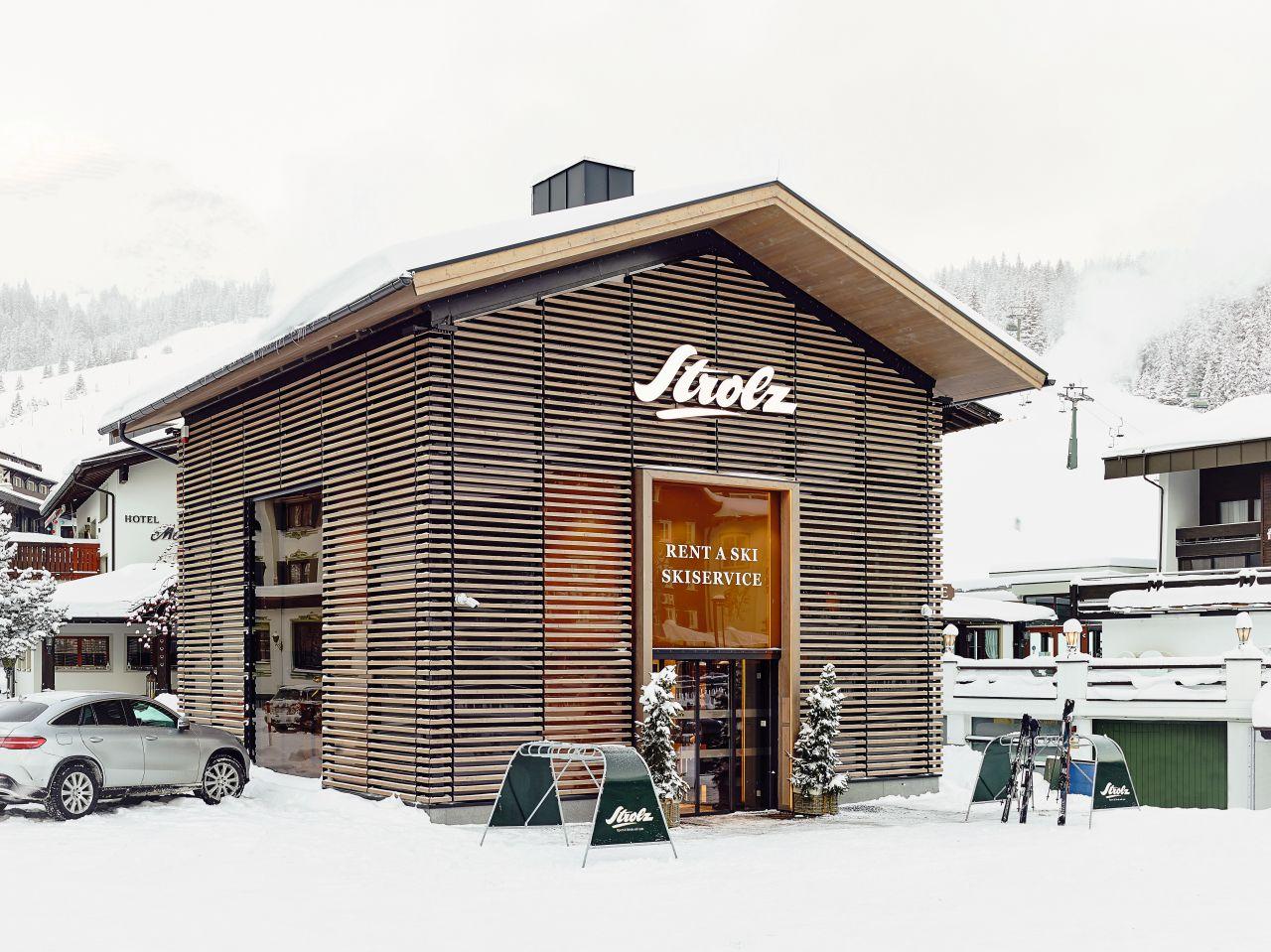Strolz חנות ציוד ואופנת סקי באוסטריה