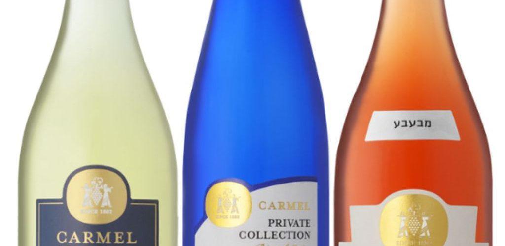 יינות המבעבעים של יקבי כרמל
